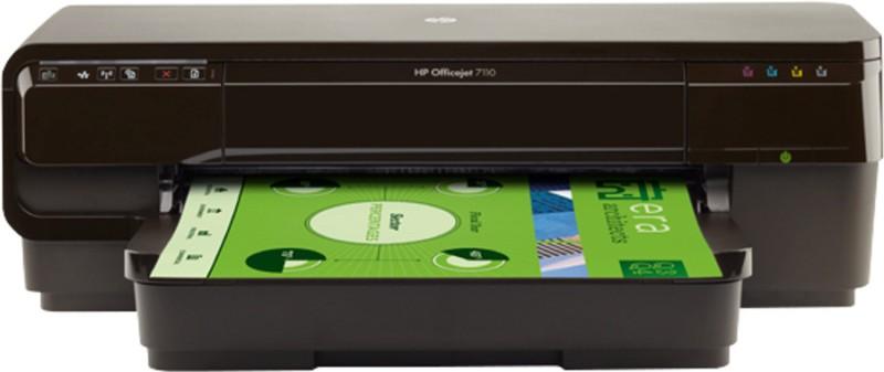 HP Officejet 7110 Wide Format Printer Single Function Wireless Printer(Black, Ink Cartridge)