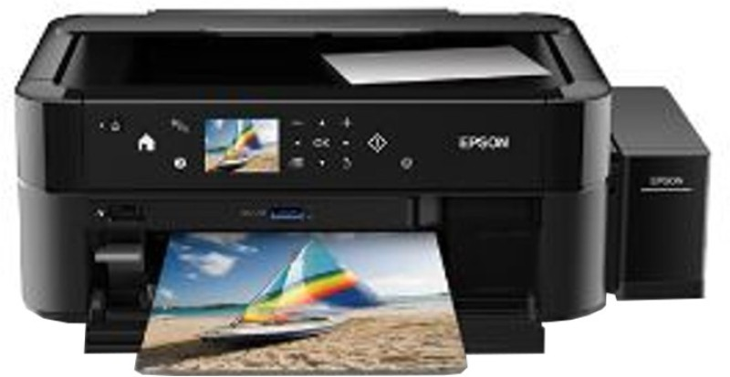 Epson L850 Multi-function Printer(Black, Refillable Ink Tank)
