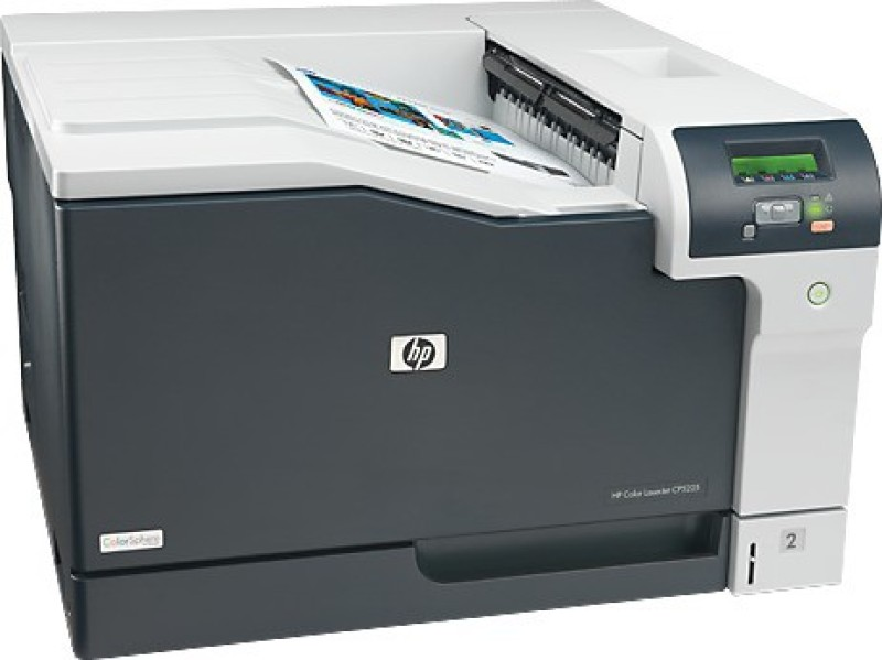 HP Color LaserJet CP5225(CE710A) Single Function Printer(White, Toner Cartridge)