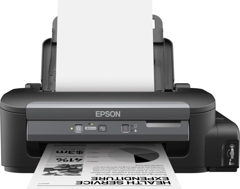 Epson WorkForce M105 Single Function WiFi Monochrome Printer(Black, Ink Bottle)