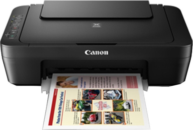 Canon PIXMA MG3070S Multi-function Printer(Black, Ink Cartridge) image