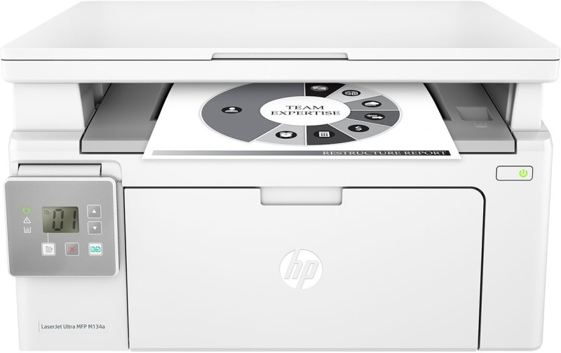 HP LaserJet Ultra MFP M134a Multi-function Printer(White, Toner Cartridge)