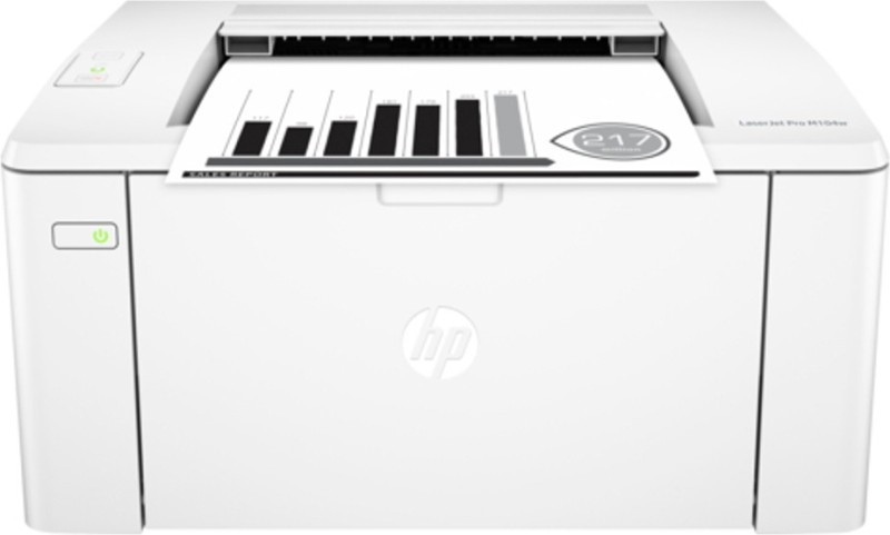 HP LaserJet Pro M104w Single Function Wireless Printer(White, Toner Cartridge) image
