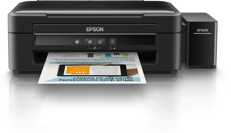 Epson L360 Multi-function Inkjet Printer(Black, Refillable Ink Tank)
