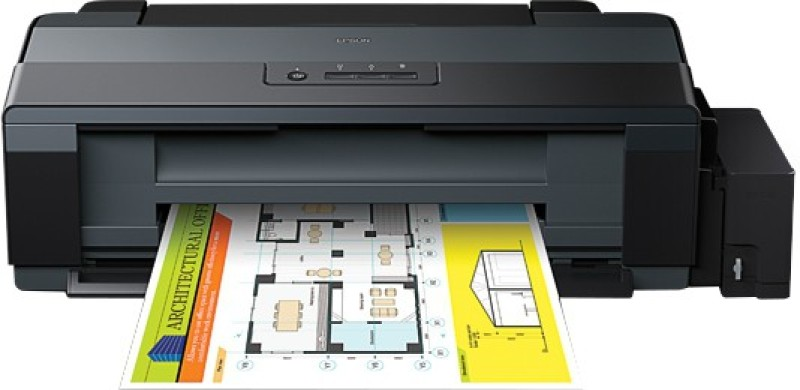 Epson L1300 Single Function Inkjet Printer(Black, Refillable Ink Tank) image