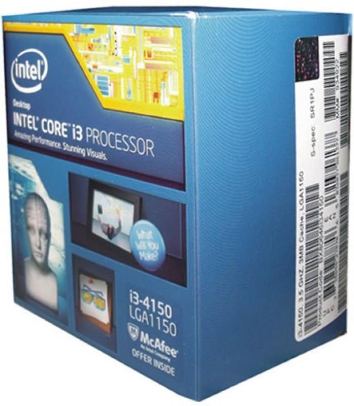 Intel 3.5 GHz LGA 1150 4150 Processor(Black) image