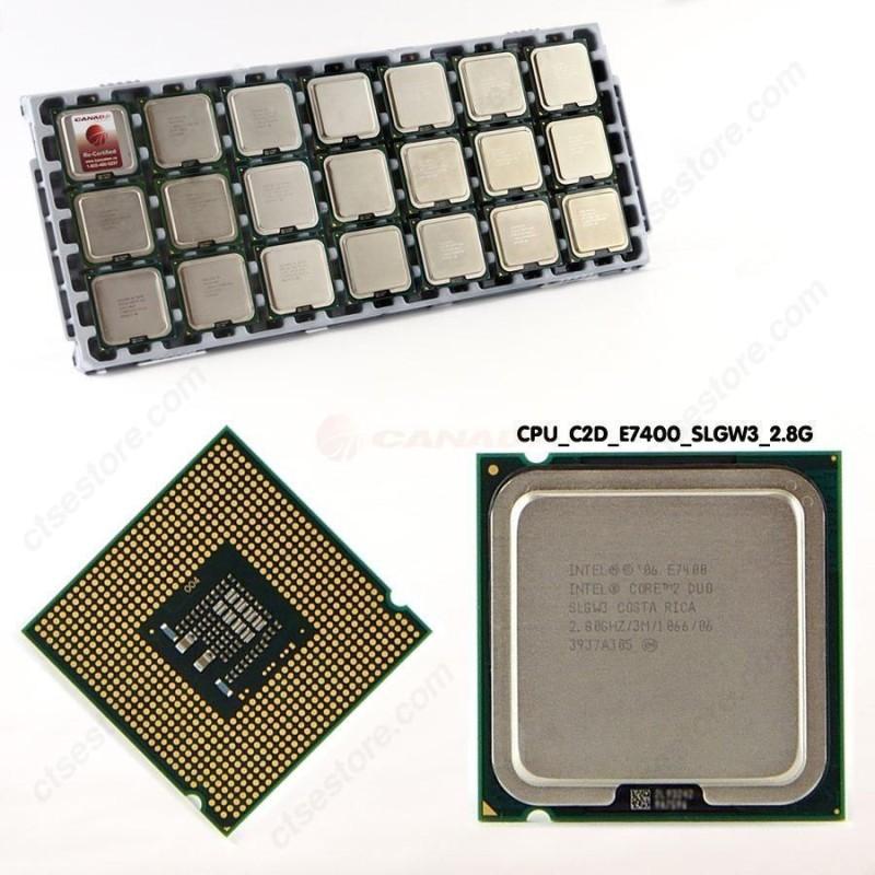 Intel 2.8 GHz LGA 775 e-7400 Processor(Silver) image