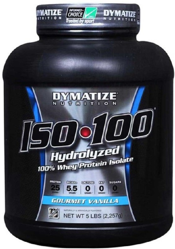Dymatize ISO 100 Whey Protein(2.27 kg, Vanilla)