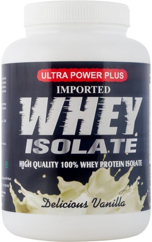 ULTRA POWER PLUS WHEY ISOLATE SF_UPPW_02 Whey Protein(1 kg, Vanilla)