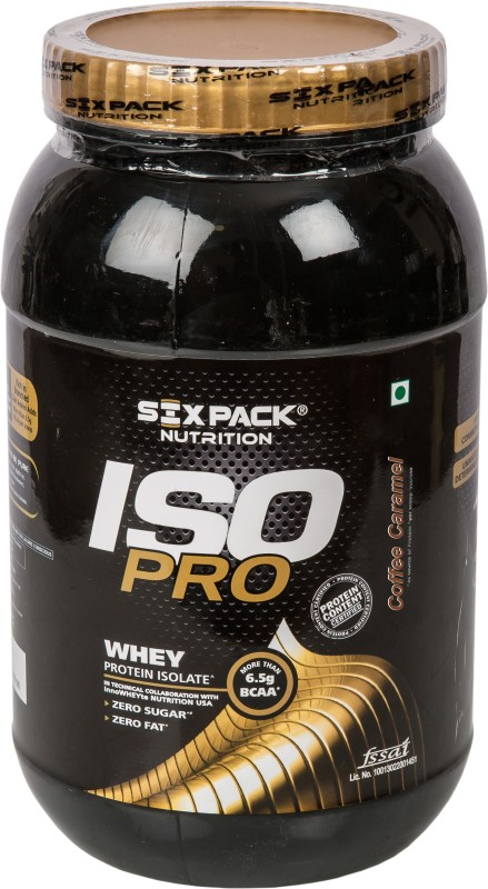 SIX PACK NUTRITION Whey Protein(1000 g, Coffee, Caramel)