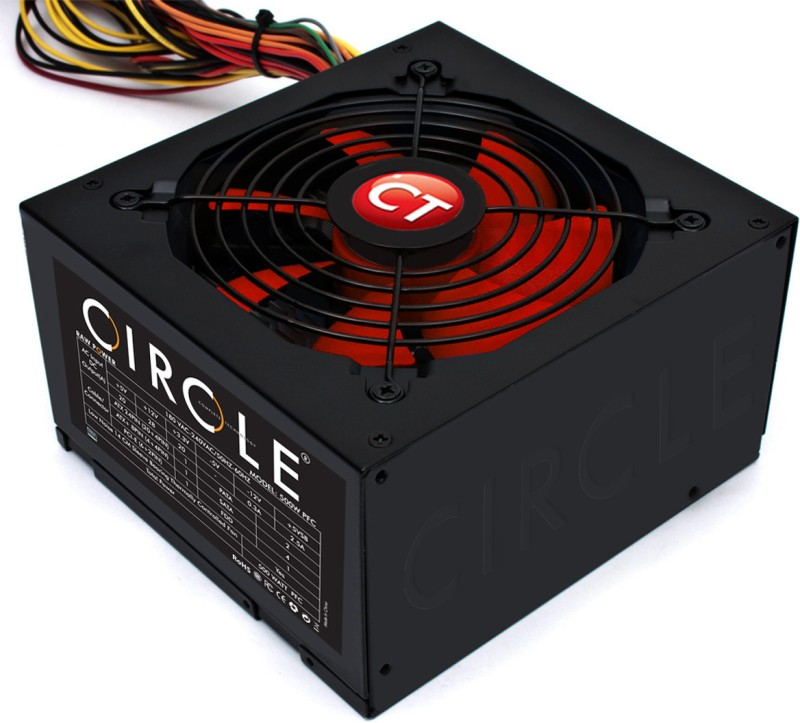 Circle APFC 500 Watts PSU