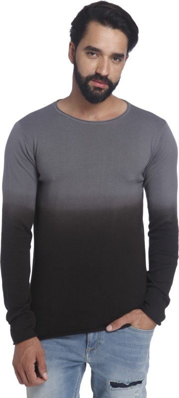 Jack & Jones Round Neck Solid Mens Pullover