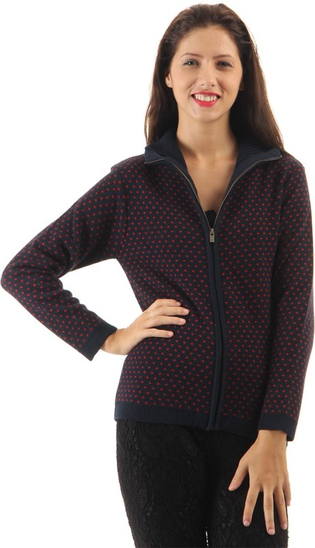 Pepe Jeans Turtle Neck Printed Women Pullover