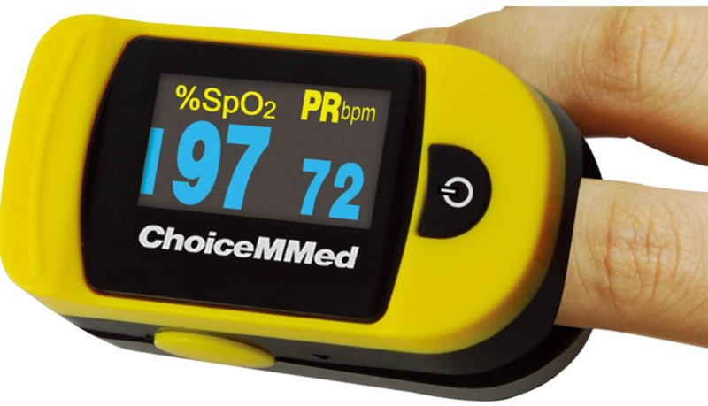 Choicemmed MD300C20 - NMR Pulse Oximeter(Yellow)