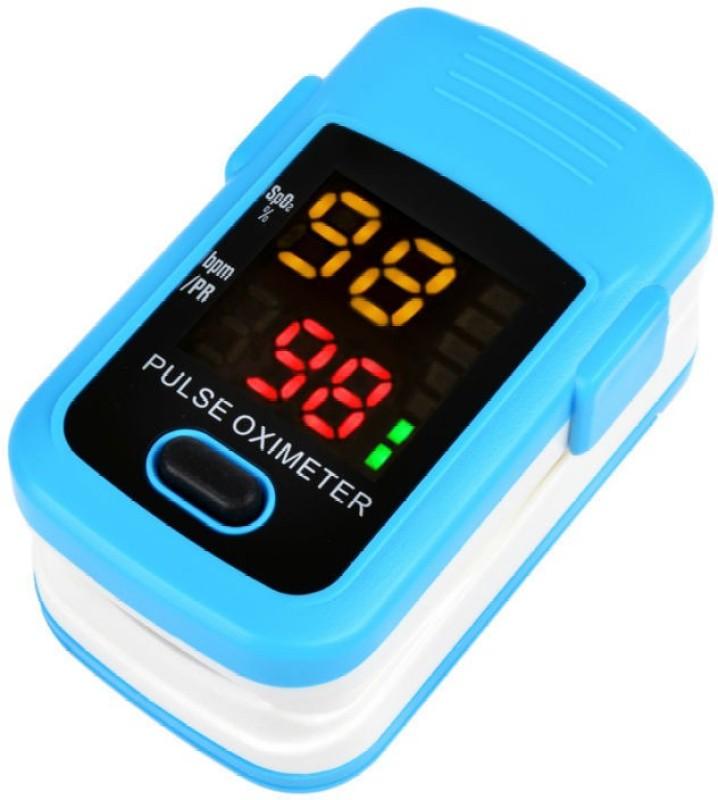 Futaba LED Fingertip Blood Oxygen Monitor Pulse Oximeter(Blue)