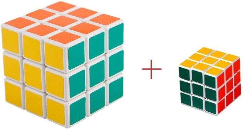 9 Perfect Rubic Magic Cube 3X3 and 3X3(2 Pieces)