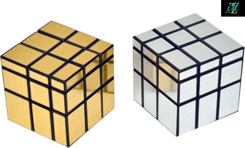 Montez Shengshou Silver And Golden Mirror Cube Combo(2 Pieces)