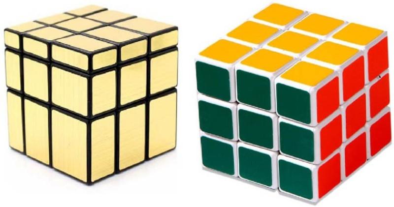 Montez Shengshou Golden Mirror & Magic Cube Combo(2 Pieces)