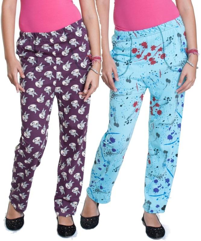 FabPoppy Women's Pyjama(Pack of 2)