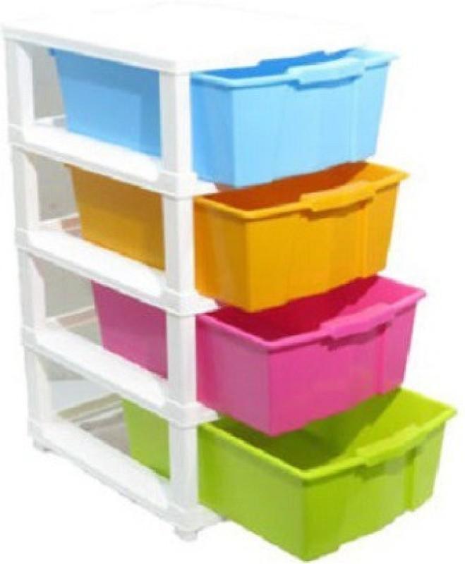 Aristo Houseware Plastic Wall Shelf(Number of Shelves - 4)