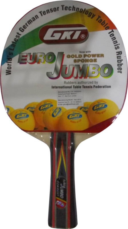 GKI Euro Jumbo Table Tennis Racquet(75 g)