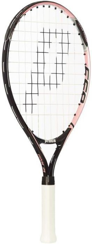 Prince Pink 21 Jr Pink Strung Tennis Racquet(G0 - 4 Inches, 200 g)