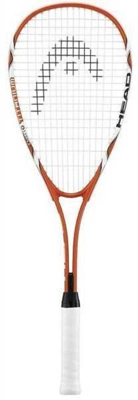 Head Nano Ti Tornado Orange Squash Racquet(Standard)