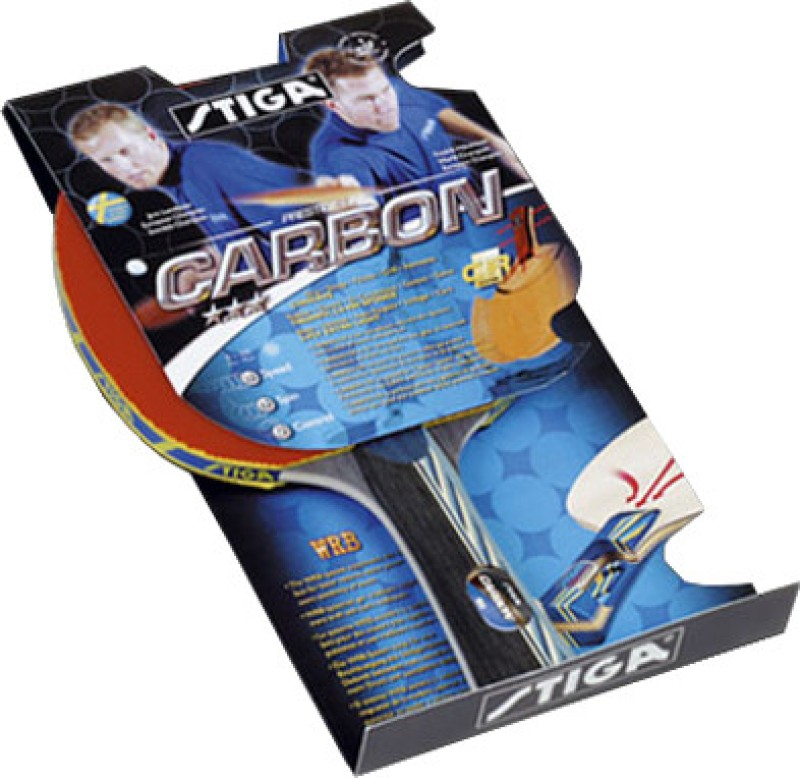 Stiga Carbon CR Table Tennis Racquet(95 g)