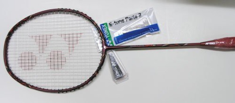 Yonex Tune Racket-Strung-Nanogy(Multicolor, Weight - 204)