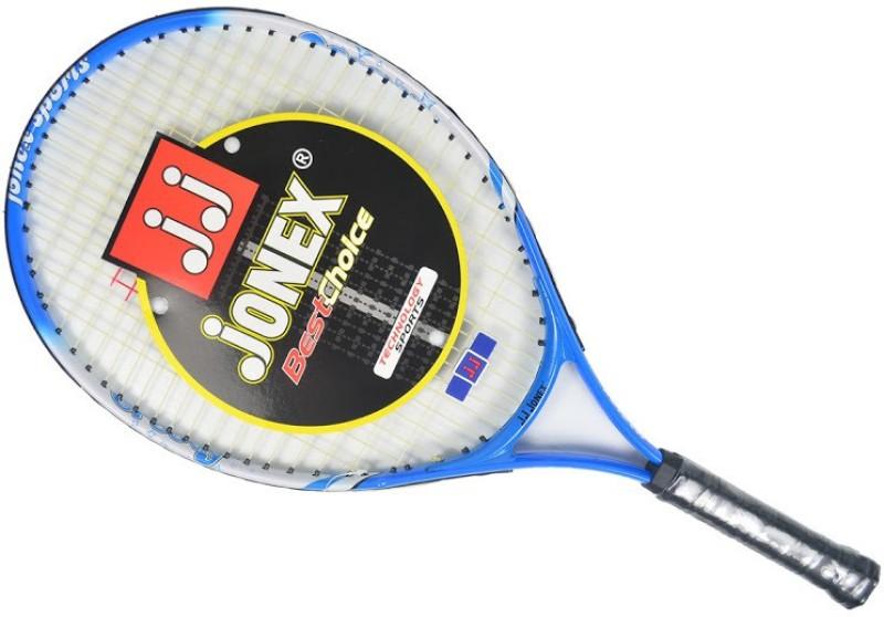 Jonex Groovy 23 Power Blue, White Unstrung Tennis Racquet(G0 - 4 Inches, 300 g)