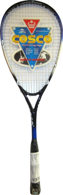 Cosco Tournament Multicolor Strung Squash Racquet(Standard, 92 g)