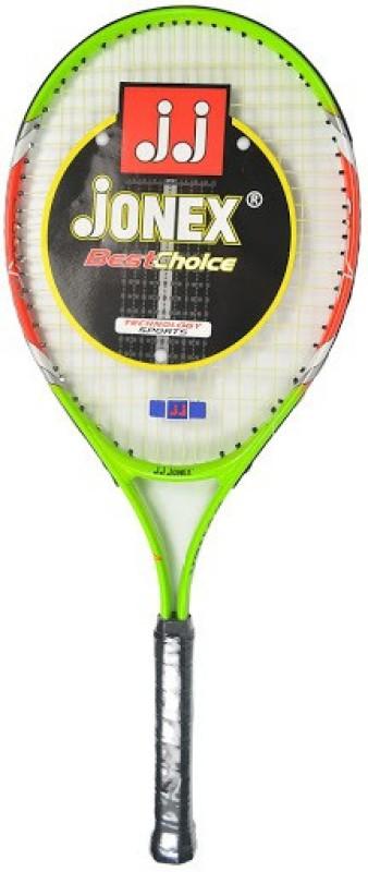 Jonex Star 25 Green, Orange, White Unstrung Tennis Racquet(G0 - 4 Inches, 300 g)