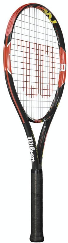 Wilson Burn 100ls Multicolor Unstrung Tennis Racquet(G3 - 4 3/8 Inches, 283 g)