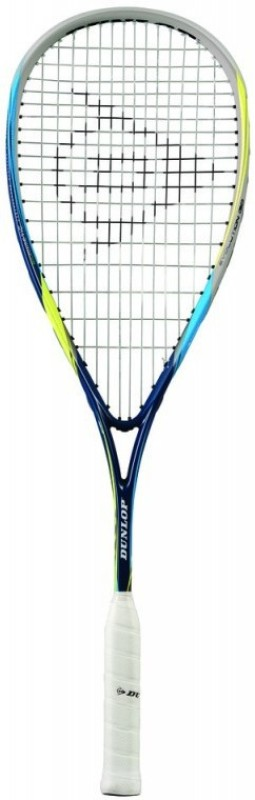 Dunlop Biomimetic Evolution 130 Hl Blue, Yellow Strung Squash Racquet(Standard, 130 g)