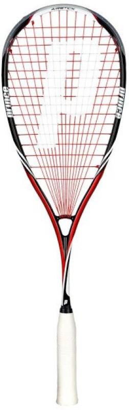 Prince Pro Air Stick Lite 550 Black, Red Unstrung Squash Racquet(Standard, 130 g)