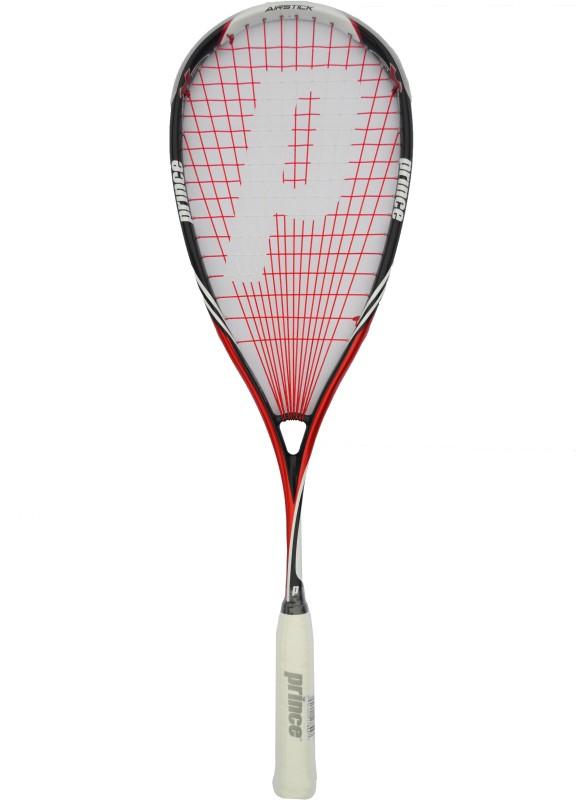 Prince Pro Airstick Lite 550 Red Strung Squash Racquet(Standard, 130 g)