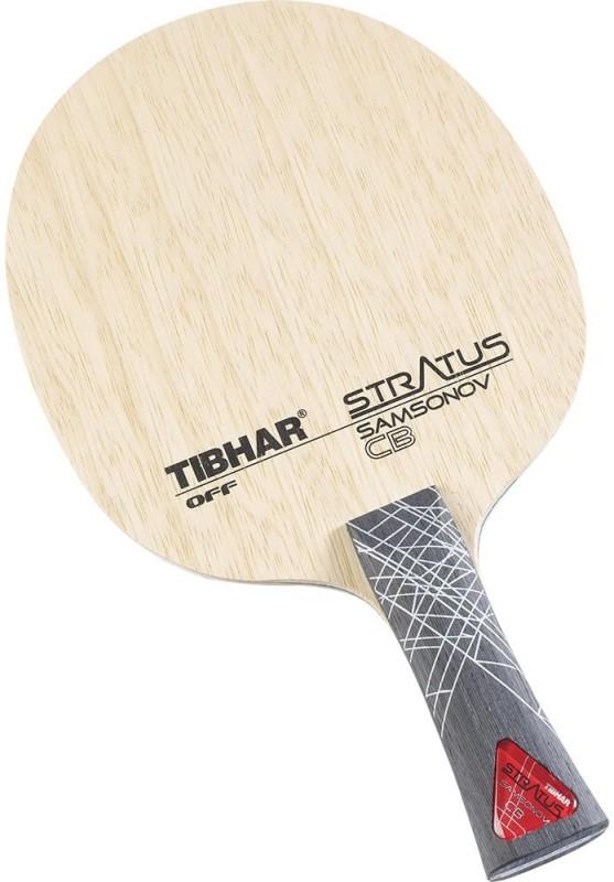 Tibhar Samsonov Stratus Carbon Multicolor Table Tennis Blade(80 g)