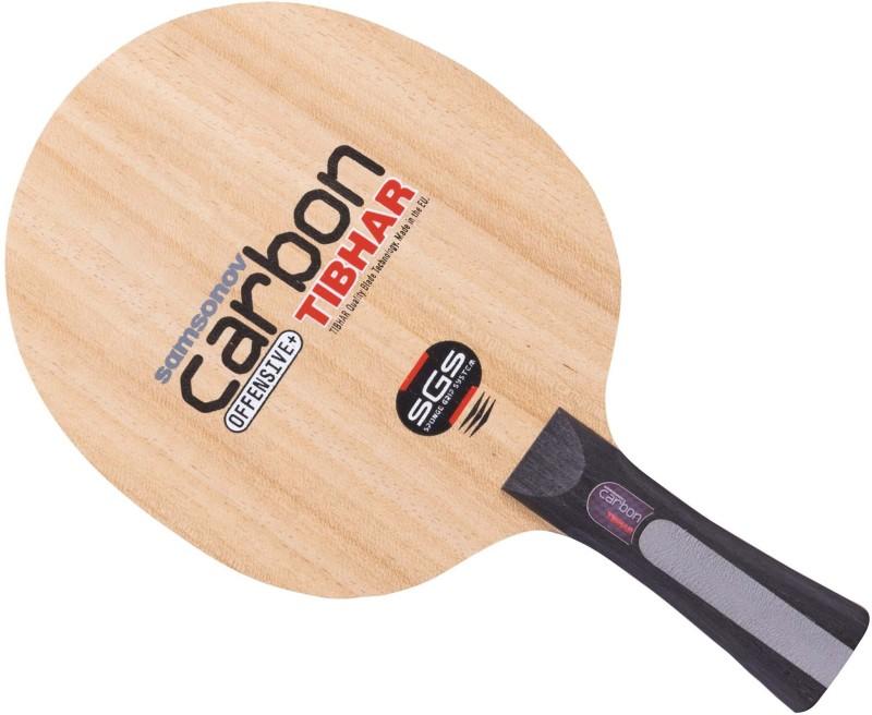 Tibhar Samsonov Carbon SGS Multicolor Table Tennis Racquet(89 g)
