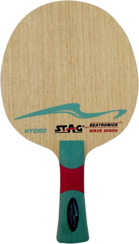 Stag BEATRONICS WAVE SERIES (HYDRO) Brown Table Tennis Blade(72 g)