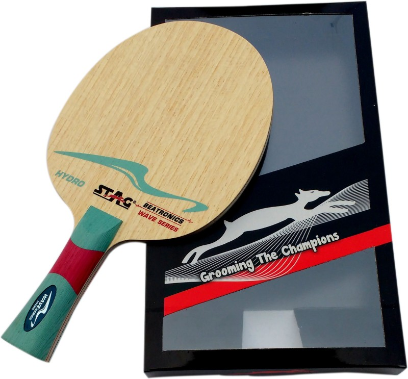 Stag BEATRONICS WAVE SERIES (HYDRO) Brown Table Tennis Blade(500 g)