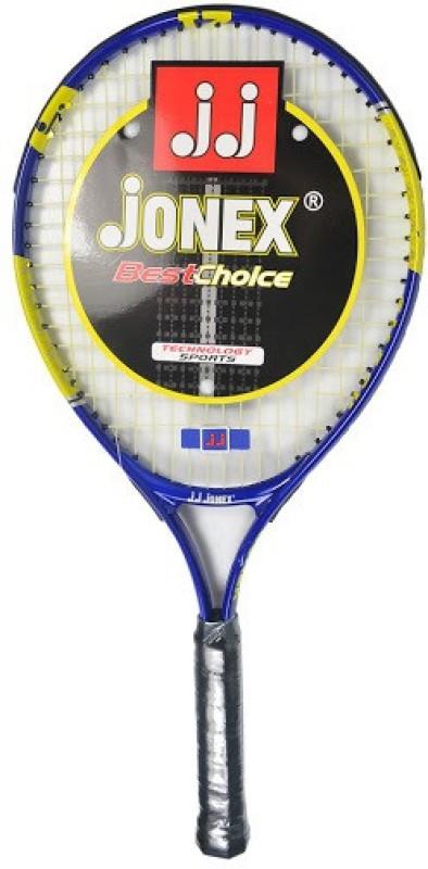 Jonex Smash 646 21 Blue, Yellow Unstrung Tennis Racquet(G0 - 4 Inches, 350 g)