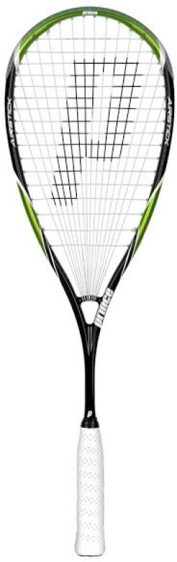 Prince Team Air Stick 500 Black, Green Unstrung Squash Racquet(Standard, 140 g)