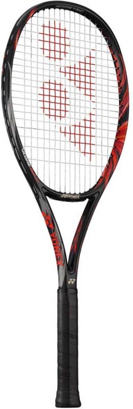 Yonex Vcore Duel G97 Alfa (270GM) Black, Red Strung Tennis Racquet(G3 - 4 3/8 Inches, 270 g)