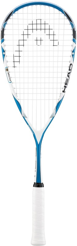Head M-Gel 125 Blue, White Squash Racquet(Standard)