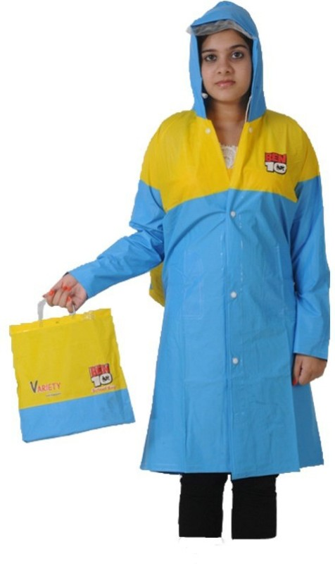 Variety Solid Girls Raincoat