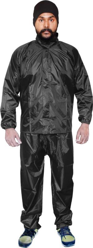 Silver Swan Solid Men Raincoat
