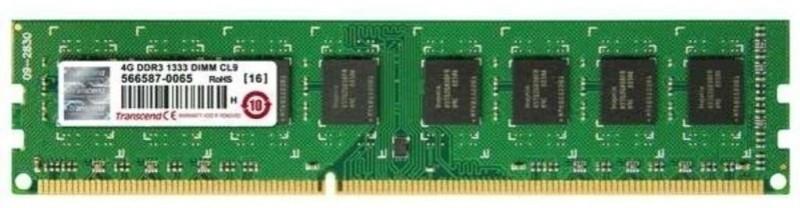 Transcend DDR3-1333 DDR3 4 GB PC RAM (JM1333KLN-4G) Bundle of 4