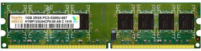 Hynix Hynix Genuine DDR2 1 GB PC DDR2 1 GB PC (Hynix Genuine DDR2 1 GB PC)(Green) image