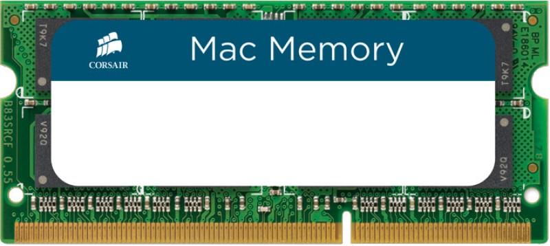 Corsair DDR3 Laptop (Mac) 8 GB (1 x 8 GB) RAM (CMSA8GX3M1A1333C9) image