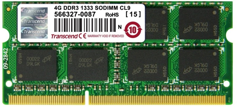 Transcend DDR3 4 GB Laptop DRAM (JM1333KSN-4G)